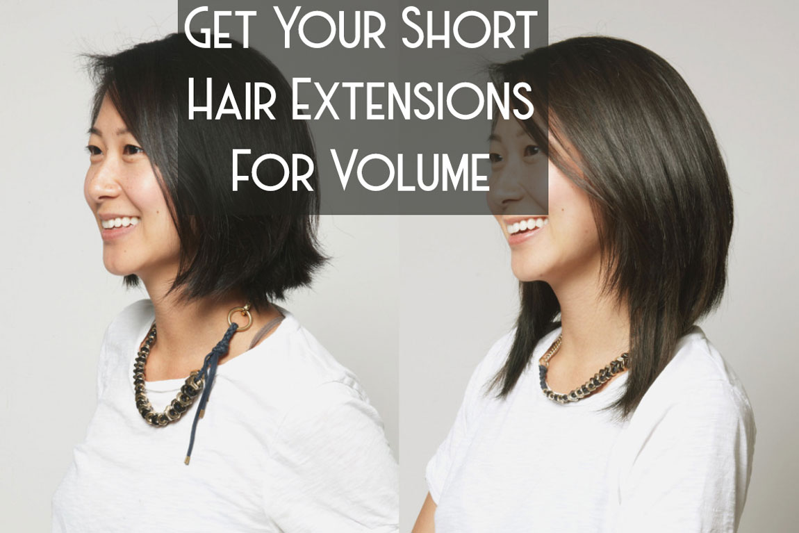 Get Your Short Hair Extensions For Volume Corine Hair And Beauty